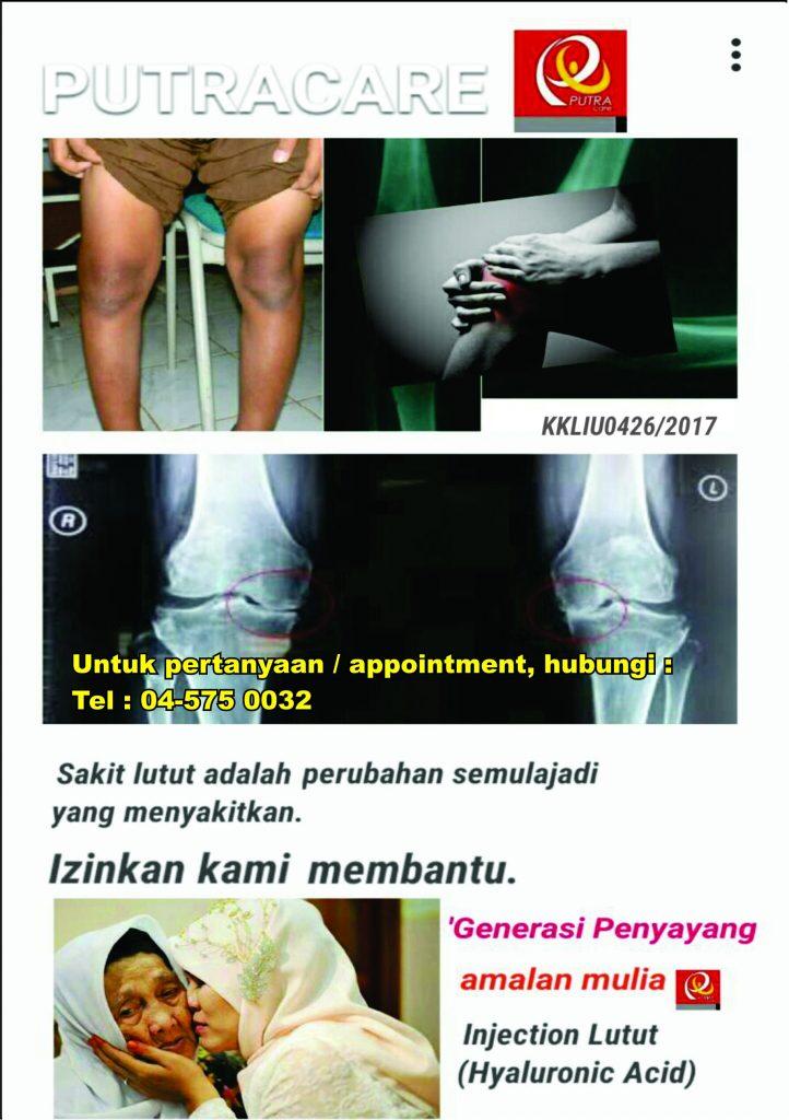 Sakit lutut satu phenomena yang bakal menyerang kita , tidak